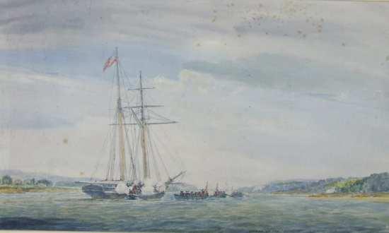 Revenue Cutter Surveyor 1812