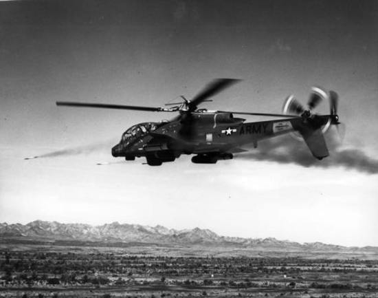 AH-56 Cheyenne Weapons Test