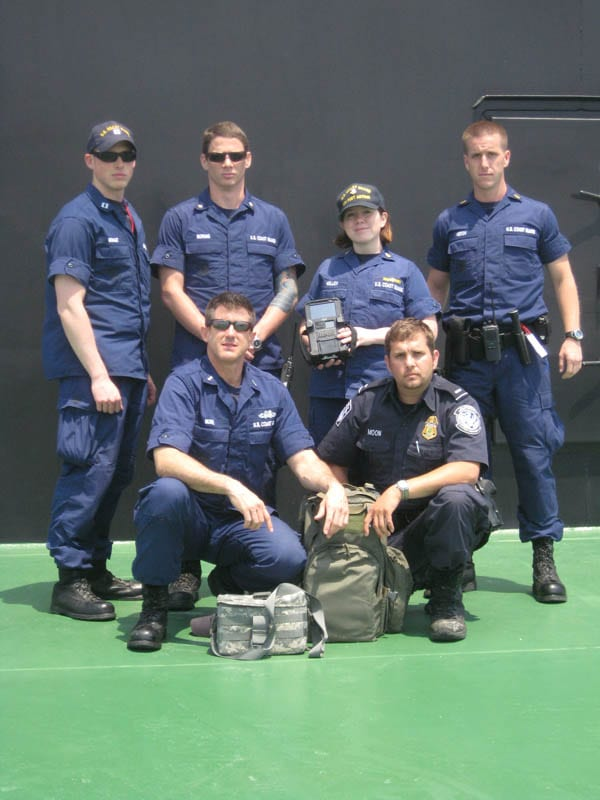 CG boarding team during SEEK pilot program