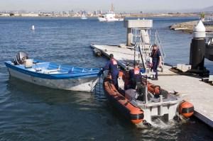 CGC Sea Otter crew and interdicted panga