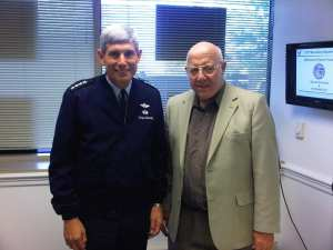Robert F. Dorr and Gen. Norton Schwartz-11-10-06