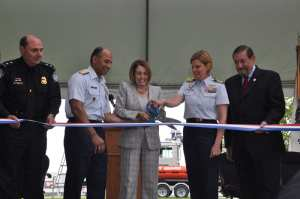 Interagency Operations Center ribbon cutting