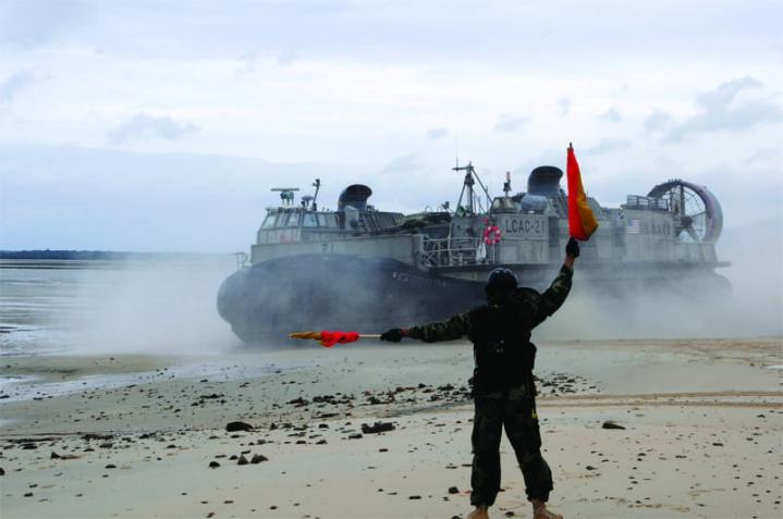 Landing Craft Air Cushion