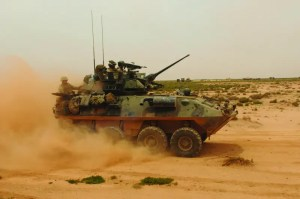 Marine Corps Light Armored Vehicle