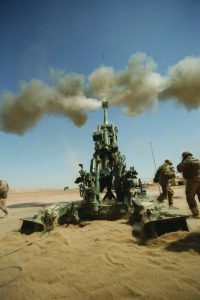 Lightweight 155mm Howitzer Fire Mission