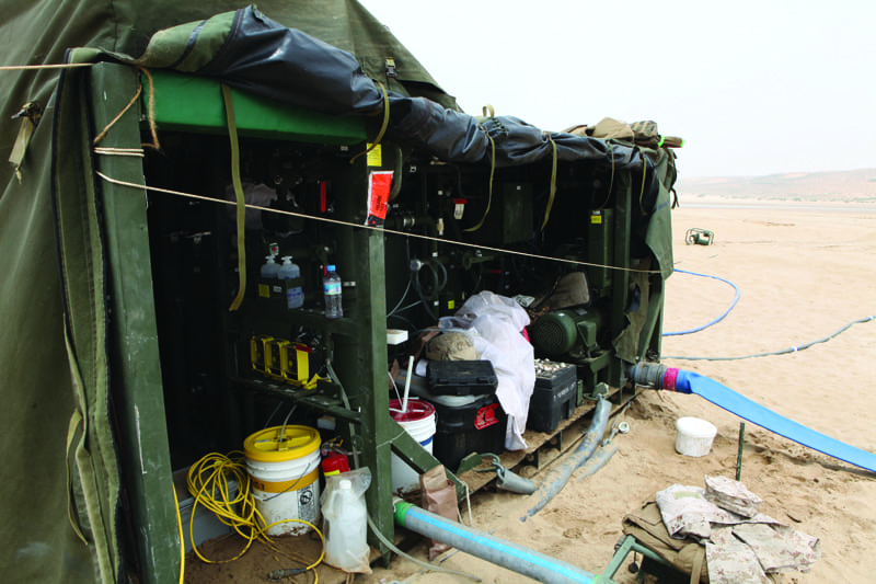 water purification system in morocco Reorganisation of central crisis team for a water provider in morocco  mobile  water purification stations, pumping systems, temporary accommodation, etc.