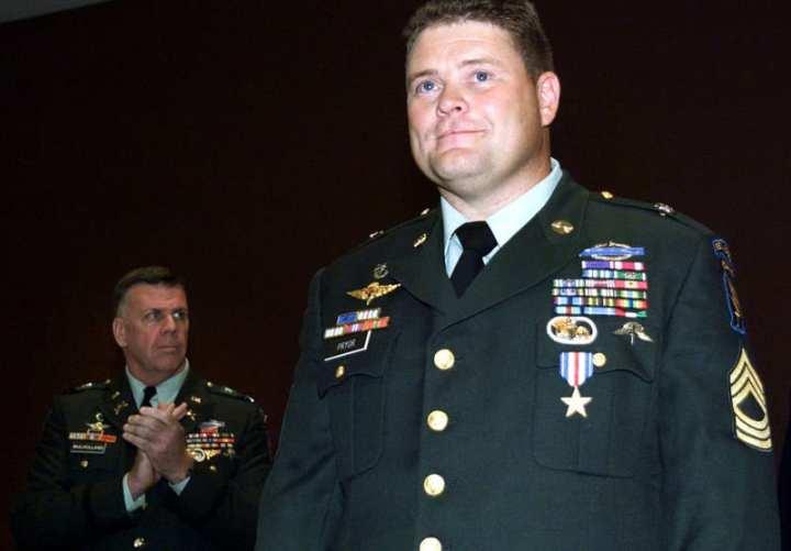 Master Sgt. Tony Pryor