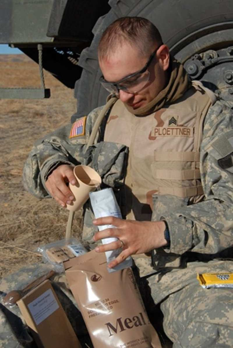 Soldier Systems Center MRE Testing