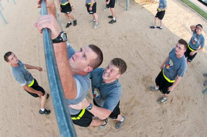 82nd Airborne Division Pullups
