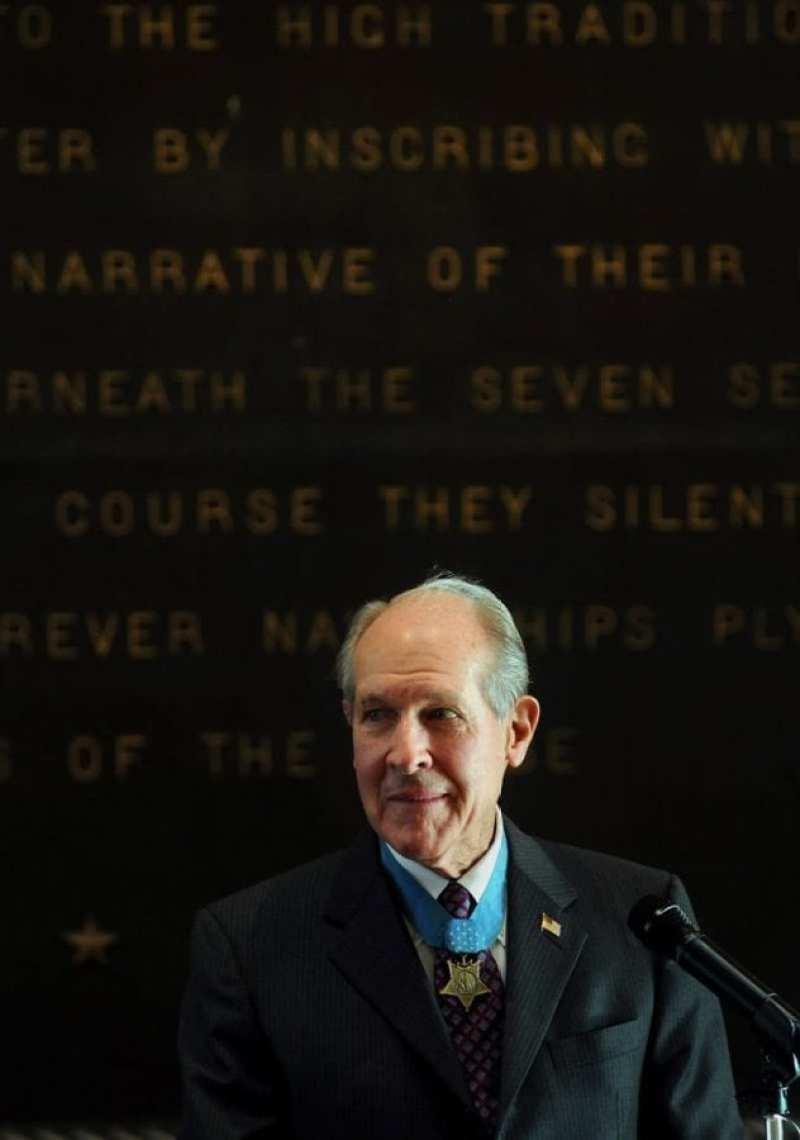 Medal of Honor Recipient Capt. Thomas J. Hudner