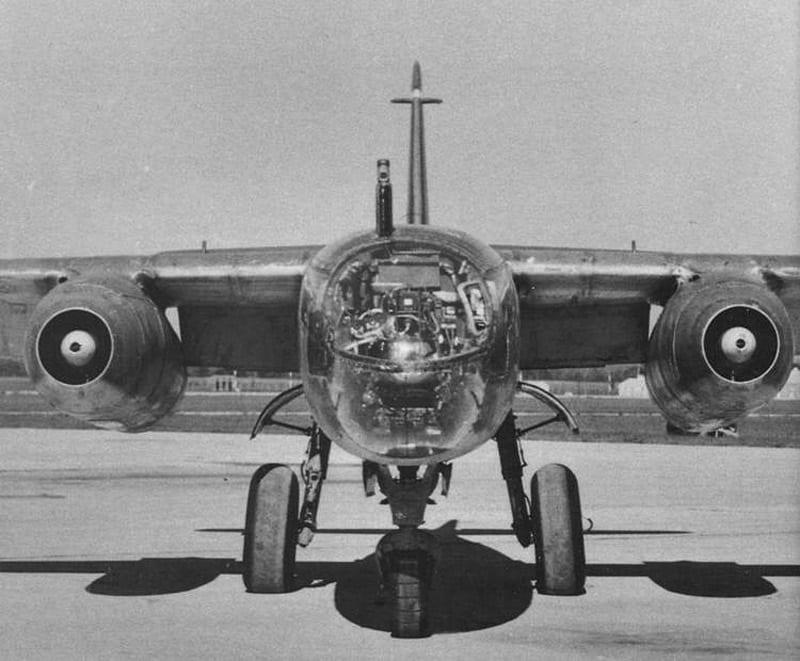 Ar 234B nose