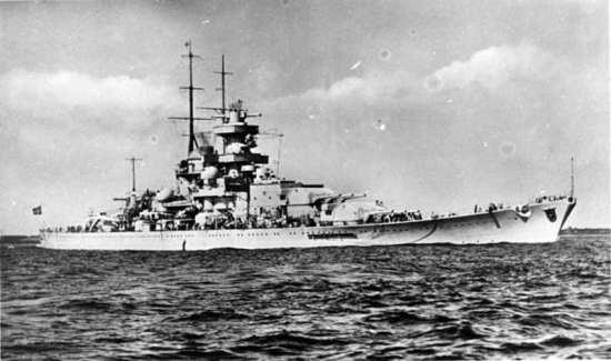 Gneisenau 1939