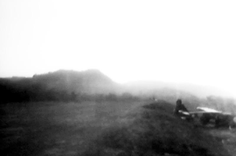 """""""Jitter Bill"""" Bradford's Bellanca on Corregidor"""