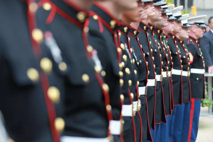 Marines Veterans Day