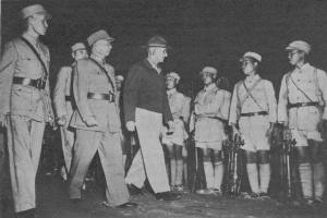 Lt. Gen. Stilwell Inspects Chinese Army Soldiers