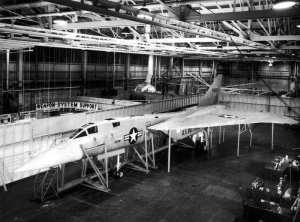 North American XF-108 Rapier Mockup