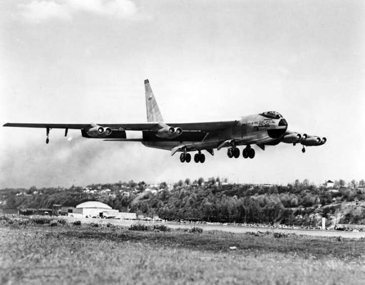 YB-52 First Flight