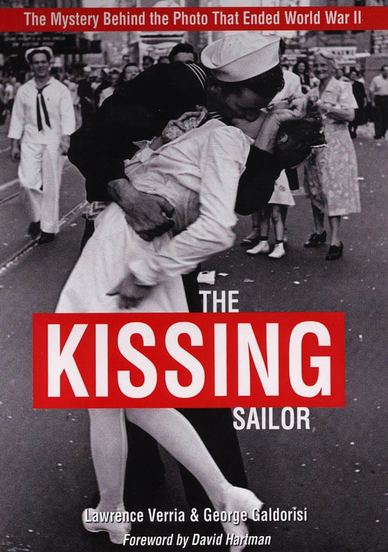 the kissing sailor being there in times square v j day 1945