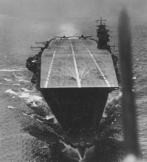Taking off from Akagi, Indian Ocean Raid