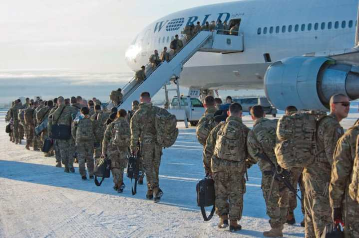 Troops deploy Afghanistan