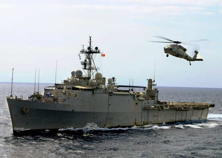 USS Ponce LPD 15 now AFSB