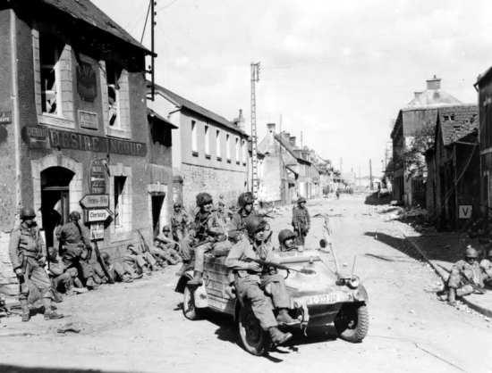 101st Airborne, Carentan
