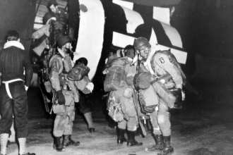 101st Airborne board C-47