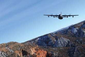 A 522nd Special Operations Squadron (SOS) MC-130J Combat Shadow II