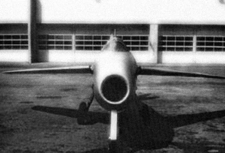 P.1101 head-on