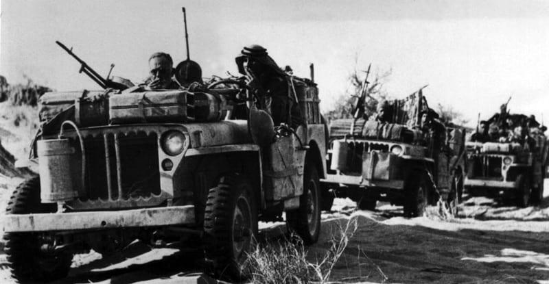 SAS Desert Jeeps