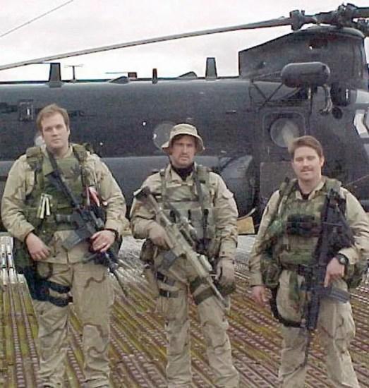 Tech Sgt. Keary Miller, Senior Airman Jason Cunningham, and Staff Sgt. Gabe Brown