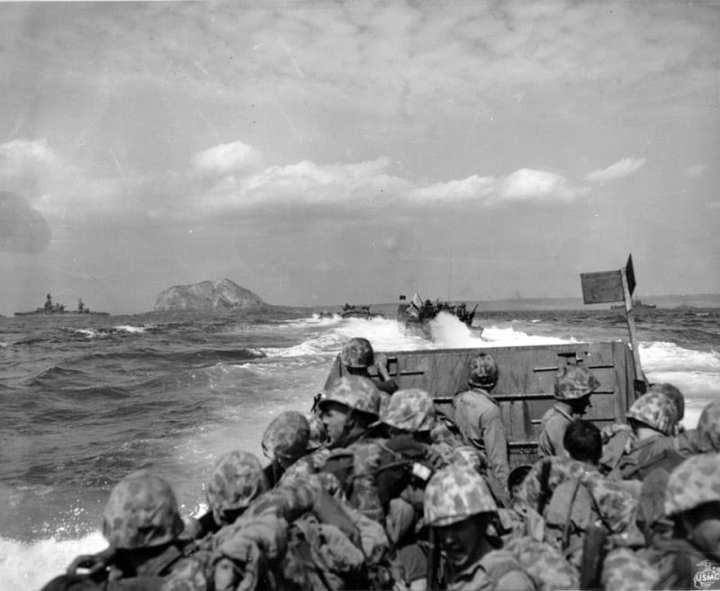 Iwo Jima Landings
