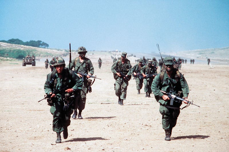 Rangers At Point Salines