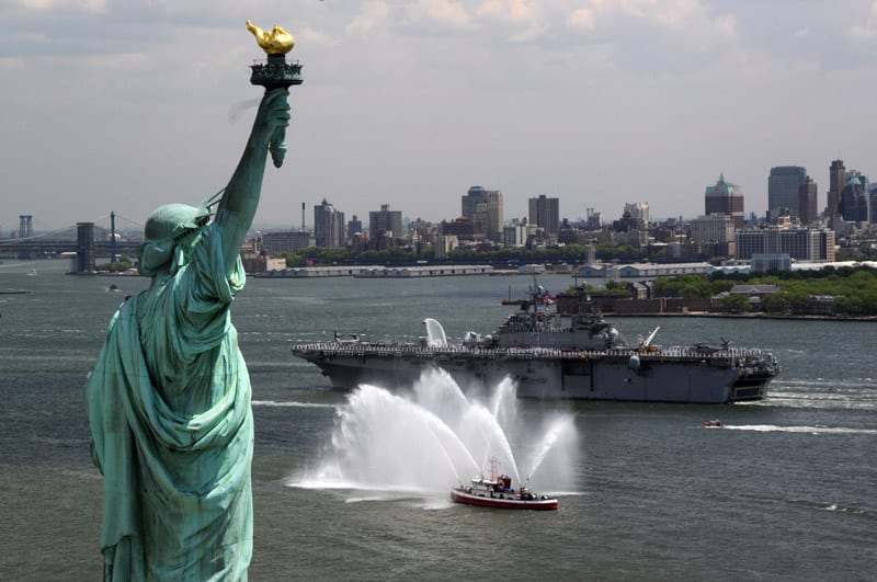 The Navy and New York City  Defense Media Network