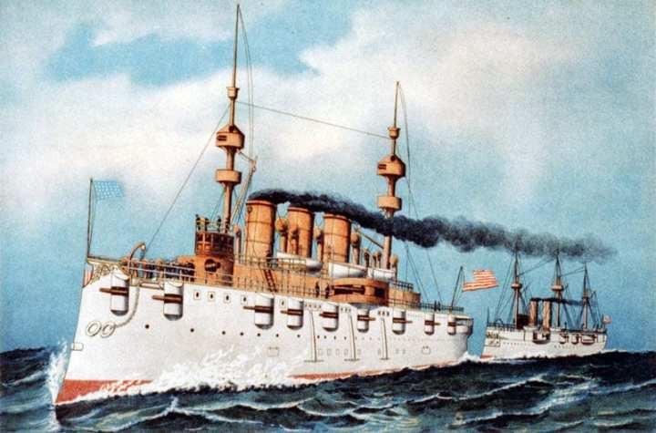 USS New York (ACR 2)