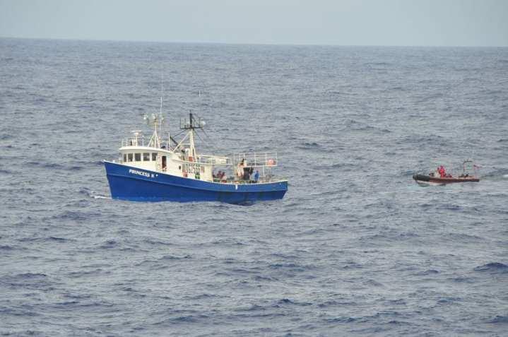 Fisheries boarding