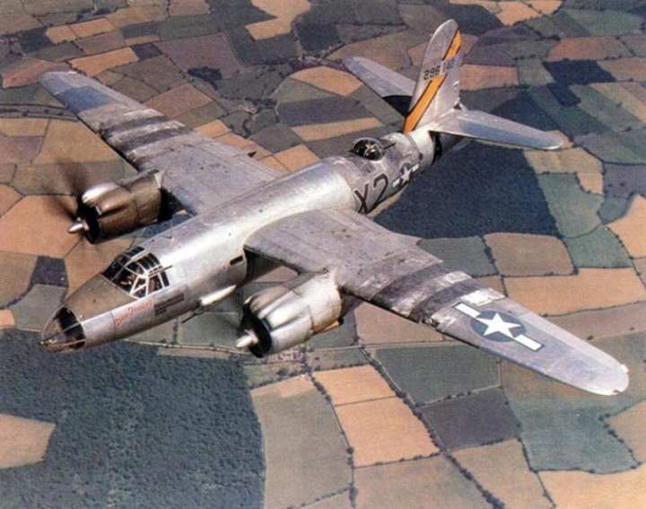 flying and fighting in the b-26 marauder