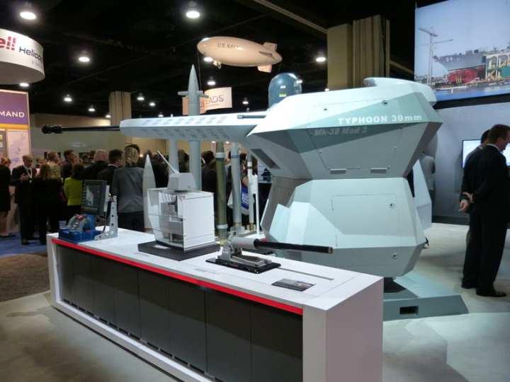 BAE Systems Developing Next Generation Mk 38 Gun Mount