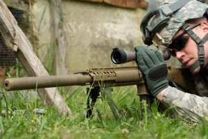 M110 SASS with Soldier