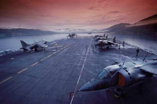 U.S. Marine Corps AV-8A Harriers
