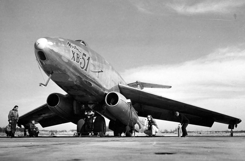 the martin xb 51 bomber defense media network