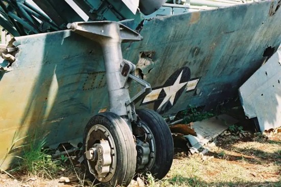 U-2 Wreckage