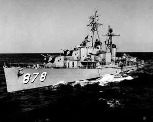 USS Vesole DDR 878