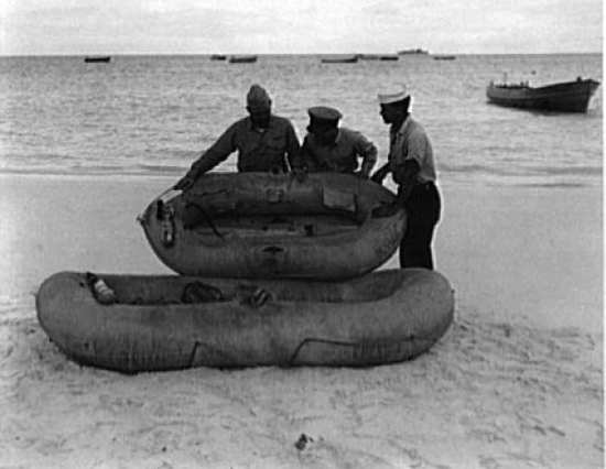 Rickenbacker Survival Rafts