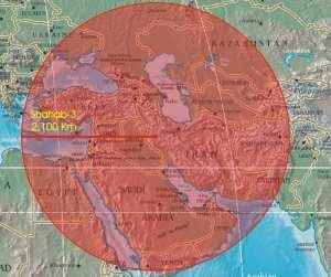 Shahab-3 Range