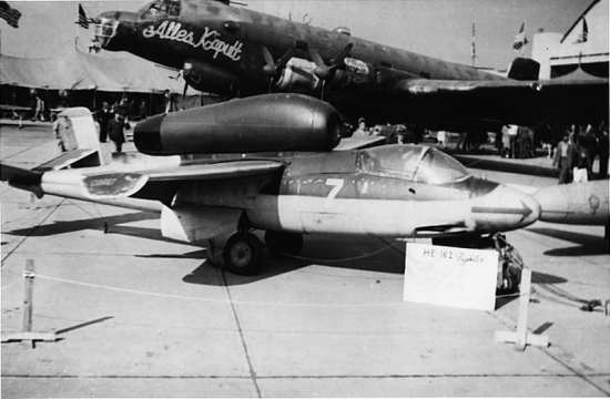 He 162 and Ju 290