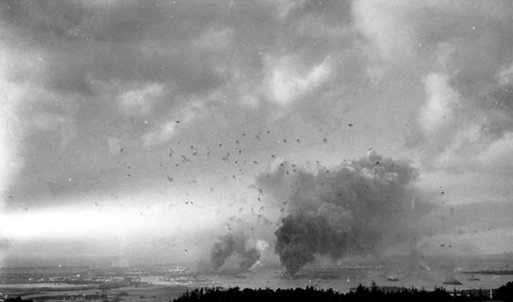 Pearl Harbor Anti-Aircraft Fire