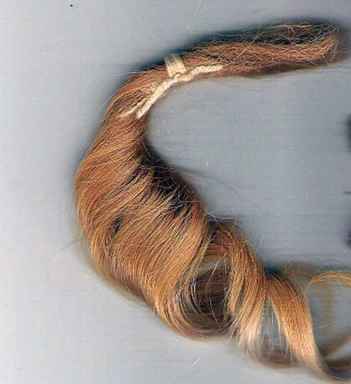 In July 1941, the U.S. War Department put out a call for human hair – specifically blonde female hair – that would be used in precision instruments. youcallthatart.wordpress.com/ photo