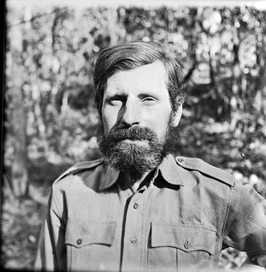 Maj. Gen. Orde Wingate after his return from the first 'Chindit' expedition into Burma. Imperial War Museum photo