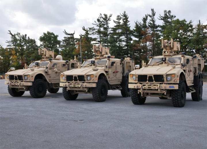 CS 13-equipped M-ATVs